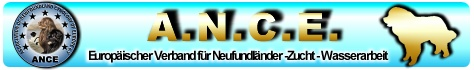 ANCE - Die Internetplattform rund um den Neufundländerverband ANCE - EUV e.V. - Association of Newfoundland Cynology of Europe